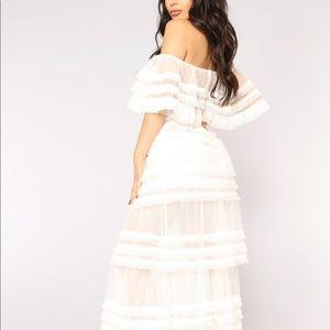 Reine Mesh Dress
